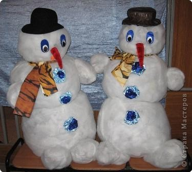 Весёлые снеговики. фото 1