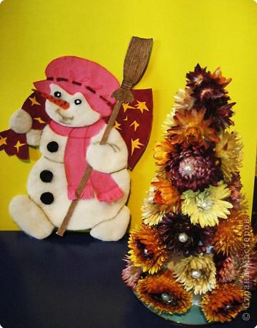 Снеговик спешит на новогоднюю дискотеку фото 1