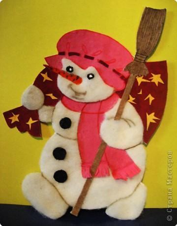 Снеговик спешит на новогоднюю дискотеку фото 2