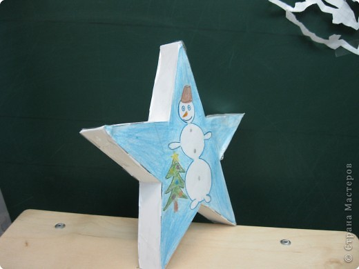 Звездный снеговик