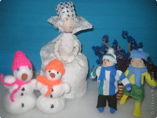 Снежная Королева со своей свитой, Кай и Герда. фото 1