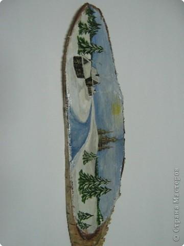 Декоративная роспись по дереву фото 1