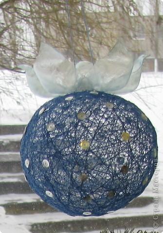 "Новогодний шар ""Ягода- снежевика"" фото 2"