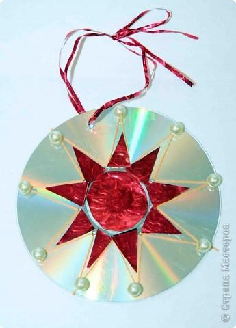 Моя поделка сделана для украшения Новогодней елки.   Снежинка падает, кружится Новый год в окно стучится. Хрустит снег за окном Дед Мороз идет к нам в дом.