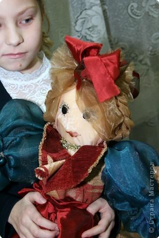 Давным-давно, когда я была еще совсем маленькой девочкой, я мечтала о красивой кукле. Мама на Новый год сшила мне в подарок чудесную куклу - Волшебницу.  фото 2