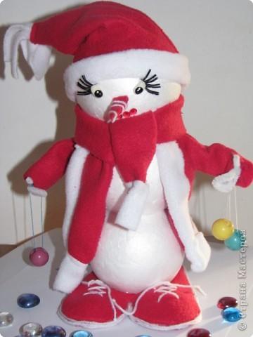 снеговичок-дед мороз фото 1