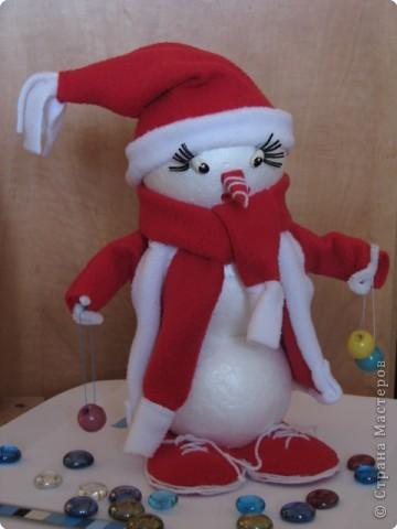 снеговичок-дед мороз фото 4