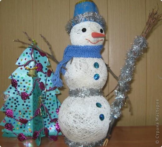 «Весёлый снеговик»