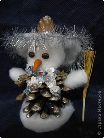 Веселый снеговичок фото 2