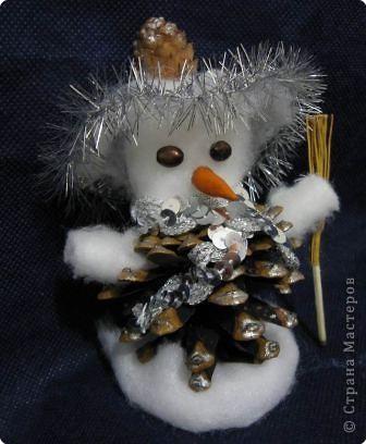 Веселый снеговичок фото 1