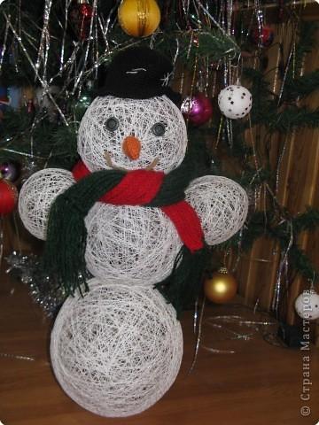 """Весёлый снеговик"" фото 2"