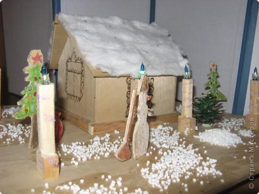 В этом волшебном домике живёт Дед Мороз!   фото 2