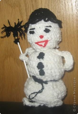 Добрячок-снеговичок