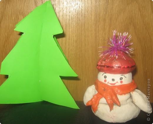 Снеговик Паша