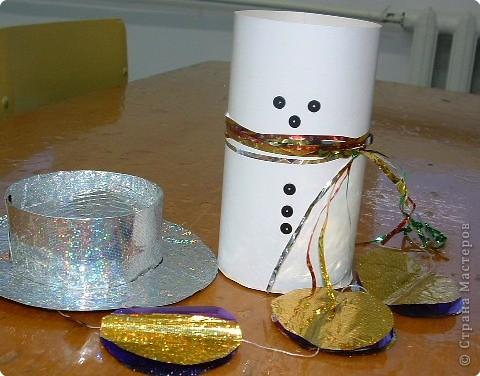 Снеговик-сюрприз фото 2