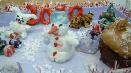Новогодняя поляна фото 3