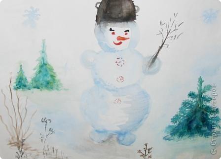 «В гостях у снеговика»