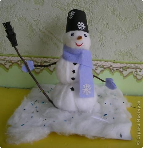 Снеговик в ожидании.