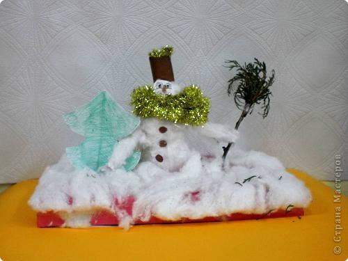 «Снеговик-почтовик»