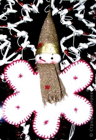 « Снежинка – Снеговик».  фото 3