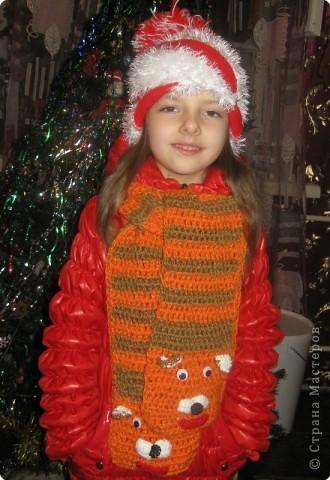 Дашу очень я люблю, шарфик я ей подарю!