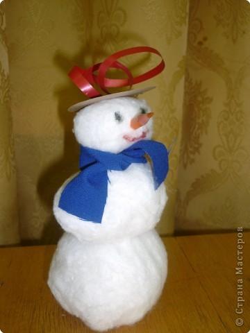 Снеговик-почтовик