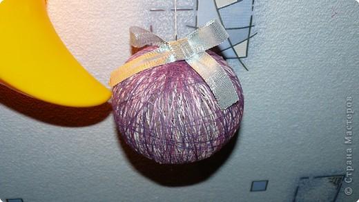 Такими шарами мы решили украсить свою ёлку. фото 3