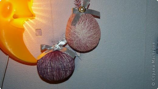 Такими шарами мы решили украсить свою ёлку. фото 5
