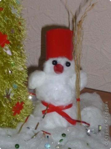 Снеговик Кругляш. фото 2