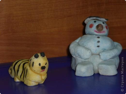 Новый год с Тигром и снеговиком