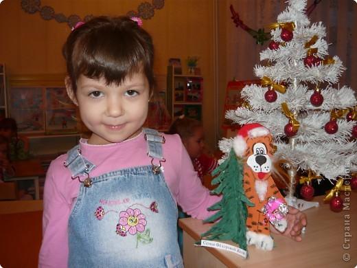 тигрёнок-  Дед Мороз фото 2