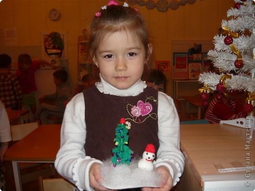 снеговик и ёлка фото 2