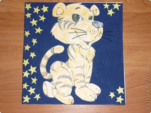 Звездный тигр.