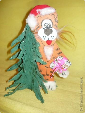 тигрёнок-  Дед Мороз фото 1