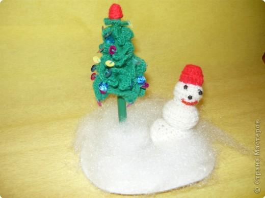снеговик и ёлка фото 1