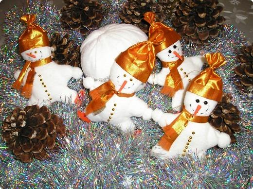 Забавные снеговики фото 3