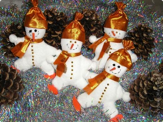 Забавные снеговики фото 1