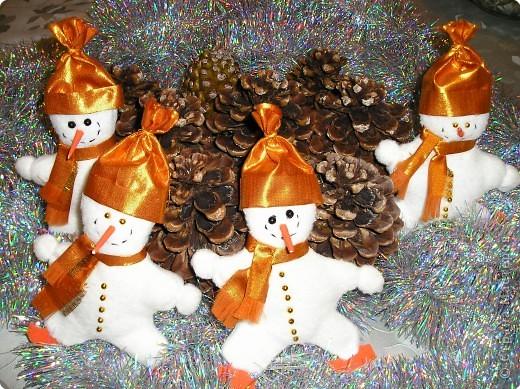 Забавные снеговики фото 4