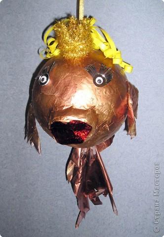 Рыбку золотую маме подарю на новогодний праздник, праздник волшебства! Она не обычная, а волшебная! фото 2