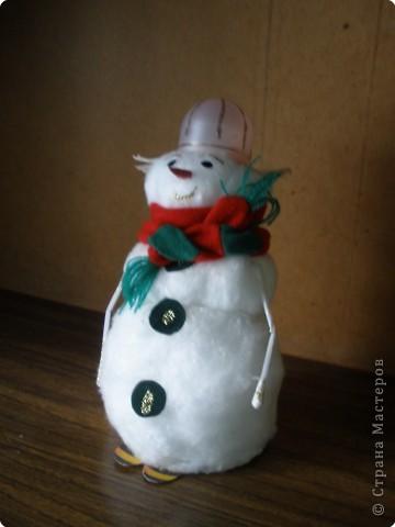 Снегошенька или снеговичок-добрячок