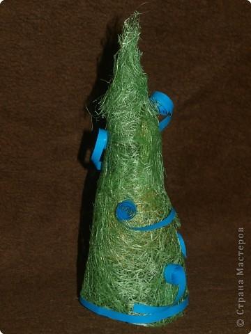 зелёно - голубая красавица фото 2