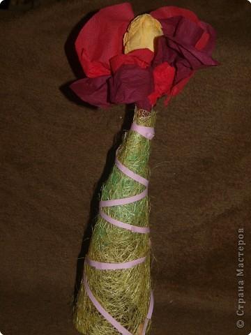 Ёлочка-вазочка  для бабушки фото 1