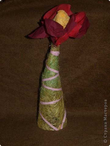 Ёлочка-вазочка  для бабушки фото 4