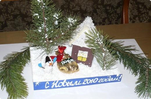 Подарок от Снеговика