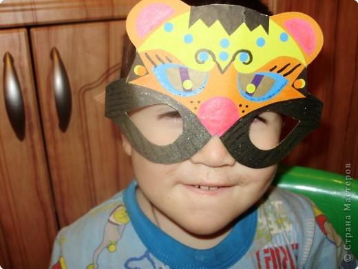 В такой мосочке-очках мы пойдем на детский карнавал. фото 3