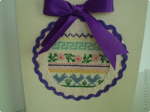 Я считаю, что мой фрагмент вышивки лучше смотрится в форме круга.  фото 2
