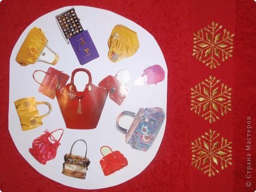 """""""Снежинка-сумочки"""". Подарок любительницам красивых сумок. Серия """"Новогоднее  дефиле"""""""