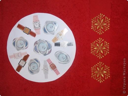 """Снежинка часы. Подарок всем. Серия """"Новогоднее дефиле"""""""