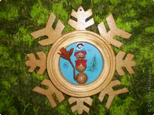 Снежинка - рамка фото 4