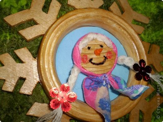 Снежинка - рамка фото 2